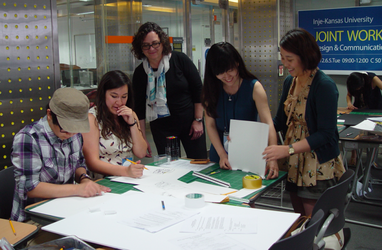 2012 국제워크샵 : Inje-Kansas University Joint Workshop for Interior Design